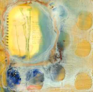 encaustic painting Kari J Young