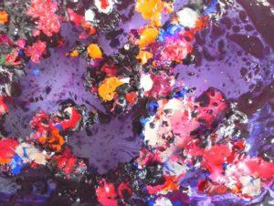 encaustic painting by lynn gibson