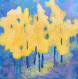 dreaming color encaustic painting by darla myers